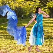 """Одежда ручной работы. Ярмарка Мастеров - ручная работа Платье """"Лесная фея"""" валяное фантазийное. Handmade."""