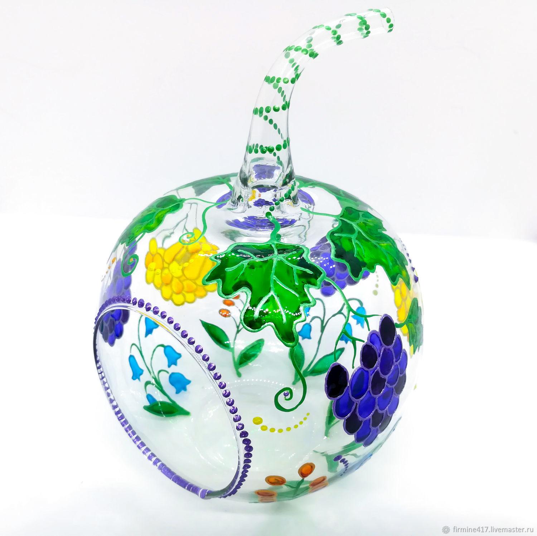 """Подсвечник """"Виноград и цветы"""", Подсвечники, Москва, Фото №1"""