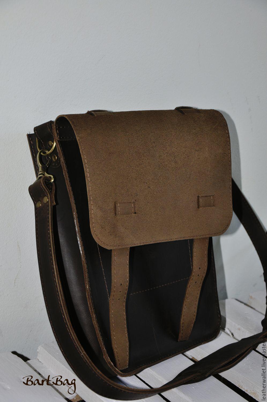 ef8f2d7de357 Ярмарка Мастеров. Мужские сумки ручной работы. Кожаная сумка