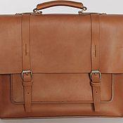 handmade. Livemaster - original item Briefcase leather. Handmade.