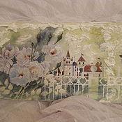 Для дома и интерьера ручной работы. Ярмарка Мастеров - ручная работа Шкатулка для выращивания денег  Белые розы. Handmade.