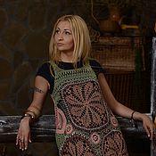 """Одежда ручной работы. Ярмарка Мастеров - ручная работа Сарафан -этно""""Сафари"""". Handmade."""