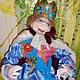 Сказочные персонажи ручной работы. Текстильная кукла. Король из сказки Андерсена. Лидия.Сказка .. Интернет-магазин Ярмарка Мастеров. Сказка