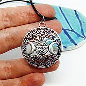 Фен-шуй и эзотерика handmade. Livemaster - original item Small Pendant Amulet Talisman Woman. Handmade.