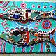 Две деревянные рыбки изящно облицованные зеркальной мозаикой и цветным стеклом. Получилась очень воздушная, легкая и красивая работа. Ценители прекрасного по достоинству оценят утонченный вкус мастера