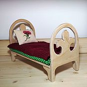 Куклы и игрушки handmade. Livemaster - original item Bed for dolls (1).. Handmade.