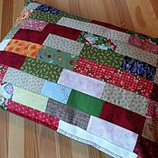 Лоскутная подушка