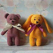 Куклы и игрушки handmade. Livemaster - original item Gift toys bear and Bunny. Handmade.