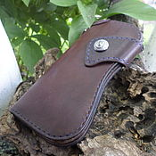 Wallets handmade. Livemaster - original item Wallet genuine leather. Longer. Biker wallet.. Handmade.