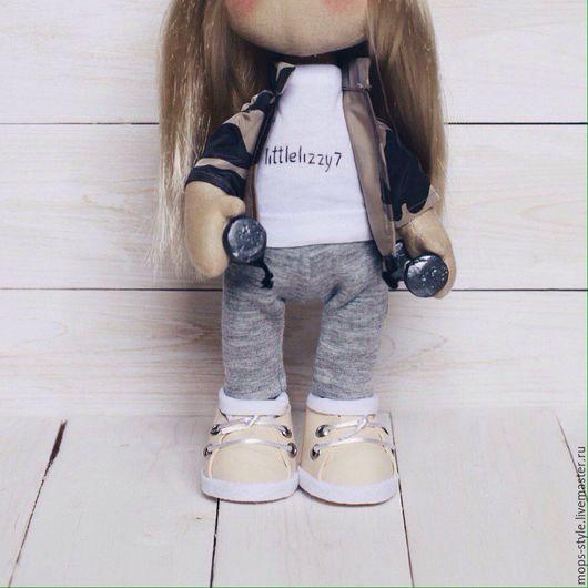 Портретные куклы ручной работы. Ярмарка Мастеров - ручная работа. Купить Портретная кукла. Handmade. Бежевый, кукла текстильная, хлопок