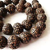 Материалы для творчества handmade. Livemaster - original item Straw palm Seed beads 12-14mm. Handmade.