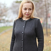 """Одежда handmade. Livemaster - original item Knitted suit """"Classic with bead embroidery-2"""". Handmade."""