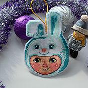 Сувениры и подарки handmade. Livemaster - original item Christmas toy Bunny Costume. Handmade.