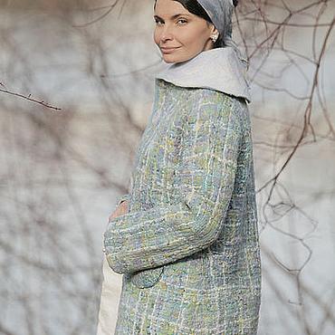 """Одежда ручной работы. Ярмарка Мастеров - ручная работа зимнее пальто ручной работы """"другая Coco """". Handmade."""