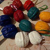 Сувениры и подарки ручной работы. Ярмарка Мастеров - ручная работа Орешки с предсказаниями - разноцветные. Handmade.