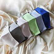 Аксессуары handmade. Livemaster - original item Mask cotton gauze 4,6,12 layers, 6 light shades. Handmade.