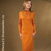 "Одежда handmade. Livemaster - original item Knitted dress""Coral"". Handmade."