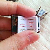 Сувениры и подарки handmade. Livemaster - original item Shakespeare`s sonnets in mini books. Handmade.