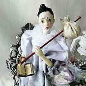 Куклы и пупсы ручной работы. Ярмарка Мастеров - ручная работа Куклы: Пьеро. Handmade.