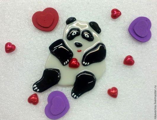 """Магниты ручной работы. Ярмарка Мастеров - ручная работа. Купить Магнит """"Ух ты, панда!"""""""". Handmade. Магнит, 14 февраля подарок"""