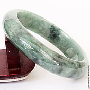 Bead bracelet handmade. Livemaster - original item Bracelet made of jade 133 gr. Handmade.