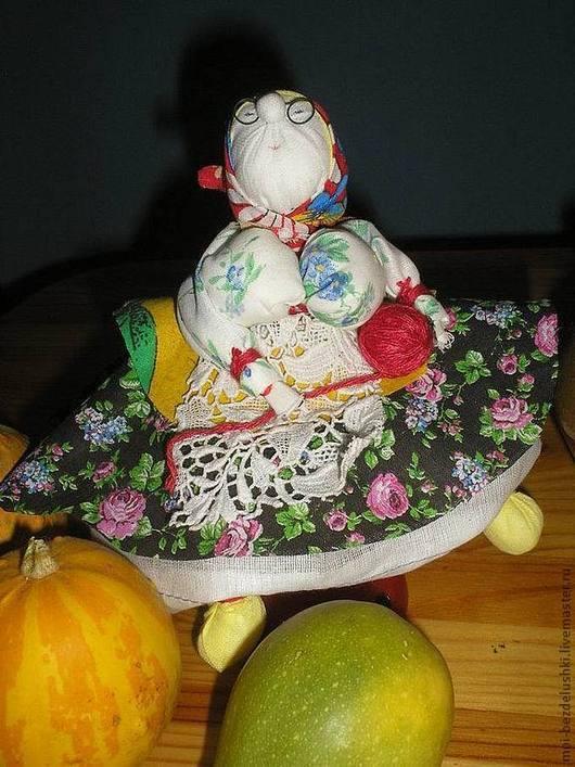 Народные куклы ручной работы. Ярмарка Мастеров - ручная работа. Купить Бабка характерная. Handmade. Народная кукла