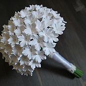 Свадебный салон ручной работы. Ярмарка Мастеров - ручная работа Свадебный букет из стефанотисов. Handmade.