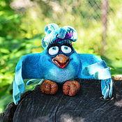 Куклы и игрушки ручной работы. Ярмарка Мастеров - ручная работа Птичка невеличка. Handmade.