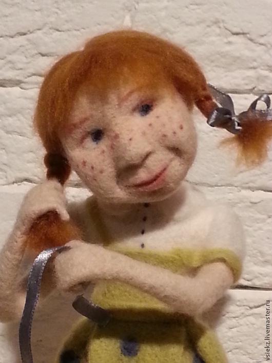 Коллекционные куклы ручной работы. Ярмарка Мастеров - ручная работа. Купить кукла валяная. Handmade. Кукла интерьерная