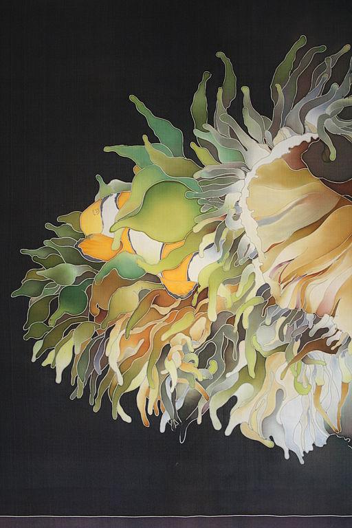 """Картины цветов ручной работы. Ярмарка Мастеров - ручная работа. Купить Картина """"Актинидия"""". Handmade. Оригинальный подарок"""