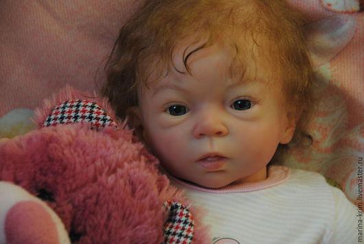 Куклы-младенцы и reborn ручной работы. Ярмарка Мастеров - ручная работа. Купить Кукла реборн Аделия.. Handmade. Бежевый, холофайбер