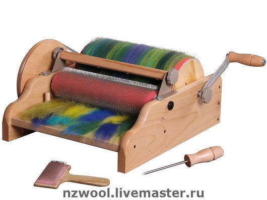 Other Handiwork handmade. Livemaster - handmade. Buy Wide drum carder.Drum carder, ashford, fine, silver wood