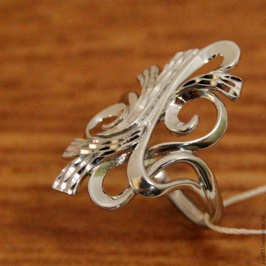 Кольца ручной работы. Ярмарка Мастеров - ручная работа. Купить Серебряное кольцо Перепутье, серебро 925. Handmade. Серебряный