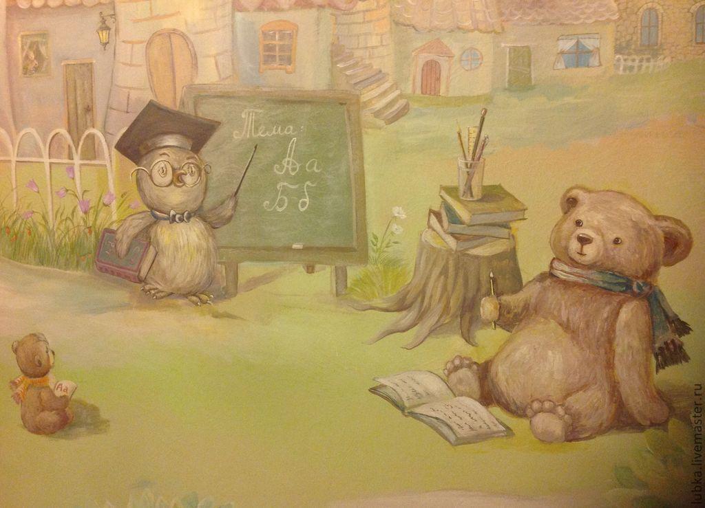 Роспись детской комнаты 27