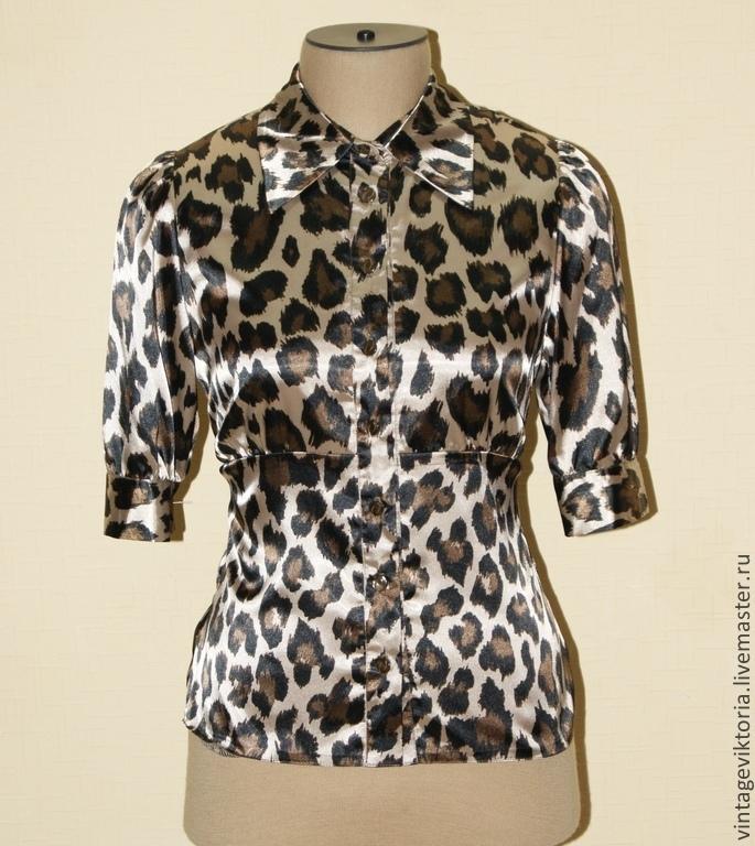 Блузка Леопард С Доставкой