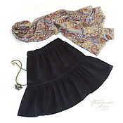 Одежда handmade. Livemaster - original item Children`s skirt of corduroy