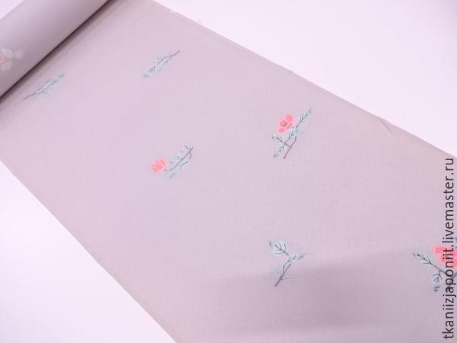 Sewing handmade. Livemaster - handmade. Buy Japanese silk, 'Smoke Topaz'.Silk, japanese quality, silk japan