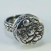 """Украшения ручной работы. Ярмарка Мастеров - ручная работа """"Vintage garden"""" серебряное кольцо. Handmade."""