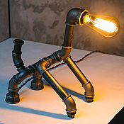 Для дома и интерьера handmade. Livemaster - original item Table lamp: Lamp in the Loft style