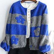 Одежда ручной работы. Ярмарка Мастеров - ручная работа Кардиган из ангорки. Handmade.