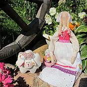 Куклы и игрушки ручной работы. Ярмарка Мастеров - ручная работа Холли и Долли  в стиле Тильда. Handmade.