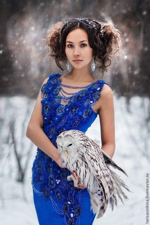 Платья ручной работы. Ярмарка Мастеров - ручная работа. Купить Платье 003. Handmade. Тёмно-синий, платье для съемок