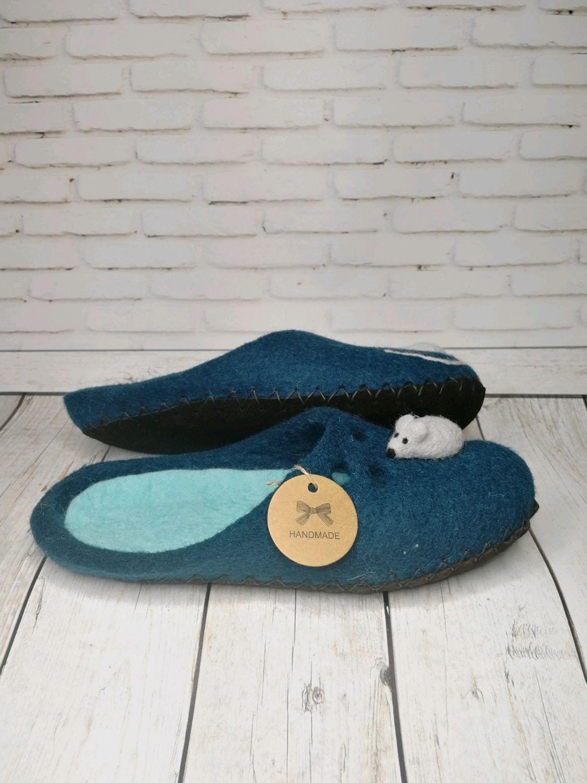 Mouse Slippers on the sea, Slippers, Ramenskoye,  Фото №1