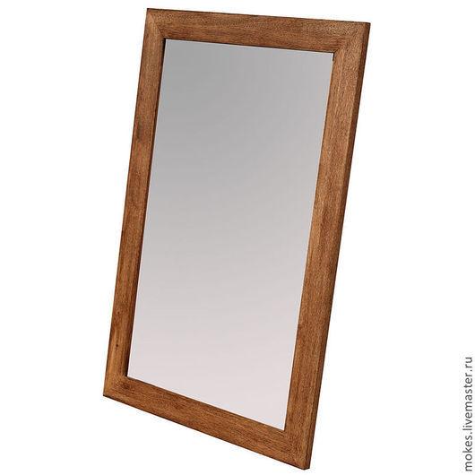 Дубовая рама. Зеркало настенное в раме