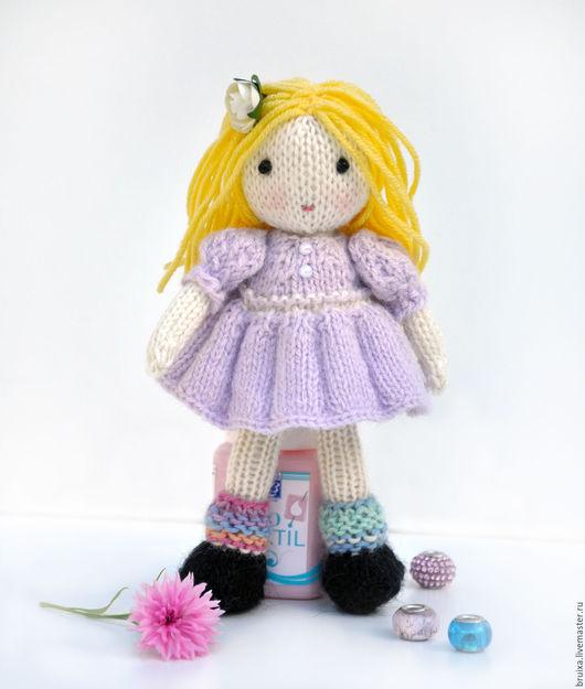 Коллекционные куклы ручной работы. Ярмарка Мастеров - ручная работа. Купить Кукла. Кукла вязаная. Кукла игровая. Молли.. Handmade.