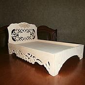 Куклы и игрушки handmade. Livemaster - original item Furniture for dolls: Doll crib No. 1543.. Handmade.