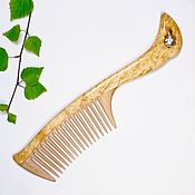 Сувениры и подарки handmade. Livemaster - original item Copy of Comb from Kareli Citrine. Handmade.