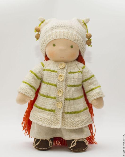 Вальдорфская игрушка ручной работы. Ярмарка Мастеров - ручная работа. Купить Иринка,  кукла с набором одежды. Handmade. Вальдорфская кукла