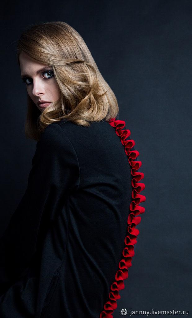 Black dress with range, Dresses, Moscow,  Фото №1