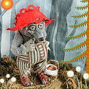 Мягкие игрушки ручной работы. Ярмарка Мастеров - ручная работа Красная Шапочка? Впервые слышу! Авторская кукла Волк. Handmade.